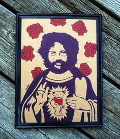 Saint Garcia // Jerry Garcia // Grateful Dead // Rock by DeLucaArt