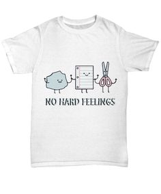 e7e7f523 This funny shirt features Rock, Paper, and Scissors along with the words