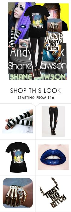 """""""Hanging with Shane"""" by botdfangel ❤ liked on Polyvore featuring rag & bone, shane dawson, hanging, sexy, shane, youtube, hot, scene, blue and awesome"""