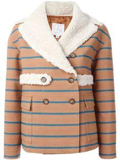 striped jacket : stella jean