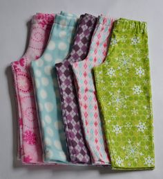 PJ Pants sewing project inspiration I could alter the pattern for 18 inch dolls