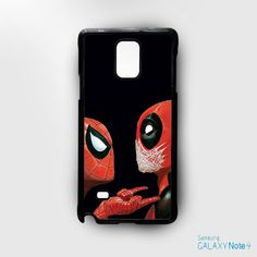 SpiderMan and DeadPool for Samsung Galaxy Note 2/Note 3/Note 4/Note 5/Note Edge phonecases