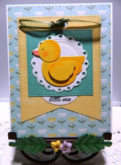 Baby Duck by kraftyaunt - Cards and Paper Crafts at Splitcoaststampers