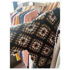 Adult Patchwork Crochet Sweater — Misha & Puff