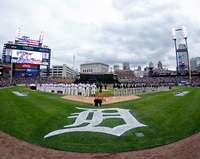 Comerica Park, Detroit Tigers, ALDS Game 1, 10/6/2012