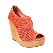 """Obsessed with my new Steve Madden """"Syren"""" coral wedges"""