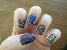 My sugar spun nails