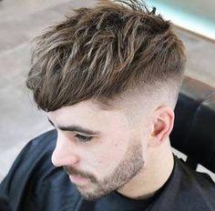 chopped cut taper fade