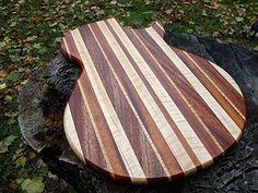 Groomsmen Gift Qty 10 Rockin Guitar Shaped Cutting by tauntongreen