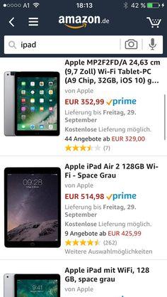 Ipad Air 2, Wish List