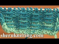 Two By Two Ribbing With Bars Knitting Tutorial 10 Free Knitting Stitch Patterns For Beginners - YouTube