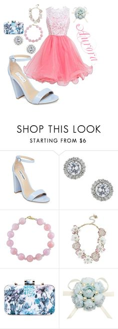 """Aurora: Homecoming: Back to School"" by brittndesj07 on Polyvore featuring Steve Madden, Miss Selfridge, Effy Jewelry and Betsey Johnson"