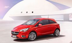 Release Opel Corsa 2015 Review Front Side View Model