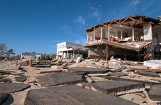 Mission trip, Bay Saint Louis, after hurricane Katrina