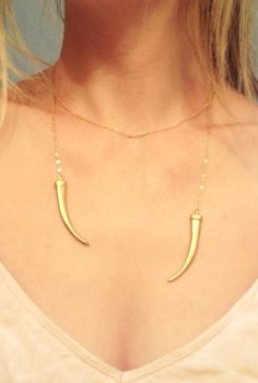 Gold Daenerys Khaleesi Open Necklace Game of by StreetRegal