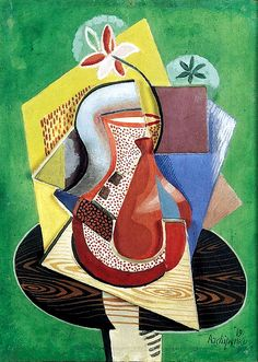 Archipenko, Alexander (1881-1964) - 1919 Vase of Flowers (Christie's New York, 2001) by RasMarley, via Flickr