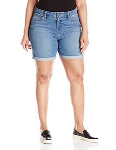 Levi's Women's Plus-Size Relaxed Short, Bear Creek, 20 Plus >>> Check out the image by visiting the link.