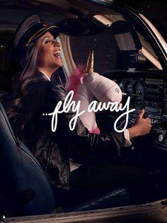 Fly away! Lilly Singh. IISUPERWOMANII