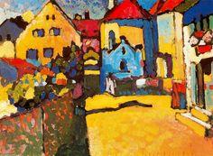 Kandinsky, La Calleja Grün en Murnau
