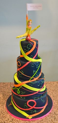 How awesome is this Cirque du Soleil Birthday Cake?!?