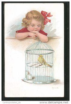 Postcards > Topics > Illustrators & photographers > Illustrators - Signed > Frank, Elly - Delcampe.net