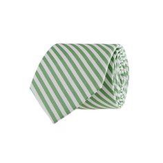 Boys' silk tie in Bengal stripe