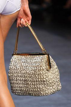 Dolce & Gabbana Primavera Verão 2014 | Moda em Crochê