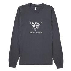 Vegan Power Long-Sleeved Unisex