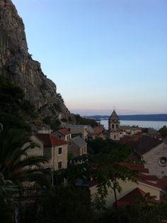 Lovely city in Croatia.