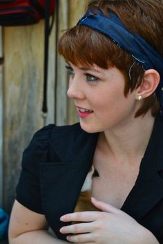 A BEAUTIFUL LITTLE LIFE: Perfect PIXIE Haircuts Part 3: Pixie Cuts with Accessories