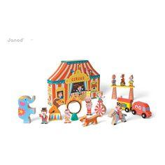 Janod Dose Story Zirkus-product