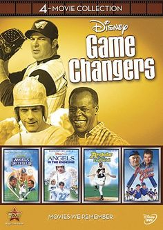Disney Game Changers 4-Movie Collection (Angels in the Outfield / Angels in the Infield / Angels in the Endzone / Perfect Game) Disney http://www.amazon.com/dp/B008H6GHHY/ref=cm_sw_r_pi_dp_BwvTwb0JRPW54