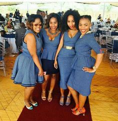 shweshwe dresses in South Africa. All modern Shweshwe dress plans by African Designers from South Africa and all finished Africa. African Print Dresses, African Print Fashion, Africa Fashion, African Fashion Dresses, African Dress, African Clothes, African Wedding Attire, African Attire, African Wear