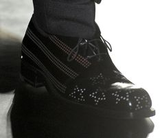 Love the detail on this shoe, Jil Sander f/w 2012