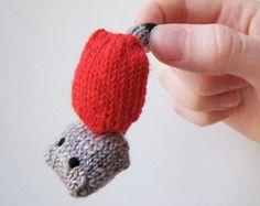 "Today is ""Create a Vacuum Day"" and even though the science guys say a ""perfect vacuum would be one with no particles in it at all,"" I have an alternate view on what makes the perfect vacuum: miniature knit and crochet!  Seen here: Tiny Vacuum Cleaner by Mochimochi Land"