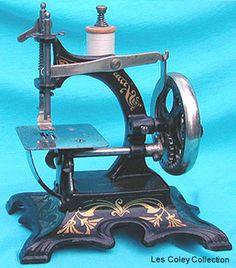 German toy sewing machine