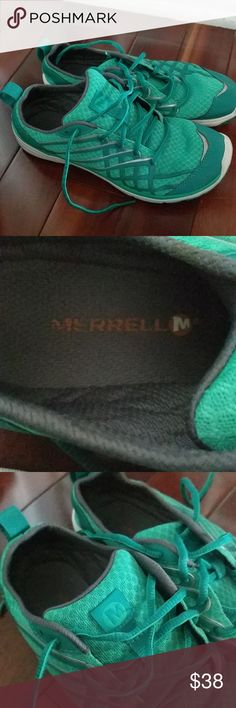 Merrell shoes Merrell women's sneakers only wore once great for the outdoors Merrell Shoes Sandals