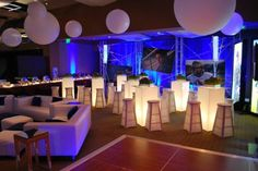 Bar Mitzvah Event Decor Teen Lounge Area Party Perfect Boca Raton, FL 1(561)994-8833