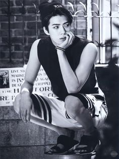 """Exo - Sehun """"I can't even picture him when he was still 18 anymore. He's soo grown up""""Instagram: adoraklee"""