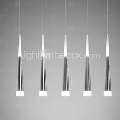 Max 7W Lámparas Colgantes , Moderno / Contemporáneo Galvanizado Característica for LED MetalComedor / Cocina / Habitación de 2016 - €135.82