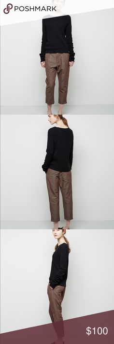 Rachel Comey Boyfriend Pant Slouchy trouser from Rachel Comey; size 4. I actually just recently found these on Posh and LOVE them, but unfortunately they're not a great fit on me. Snatch these up! Rachel Comey Pants Trousers