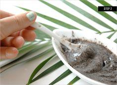 Coffee Body Scrub // DIY Beauty Treatments | Rue