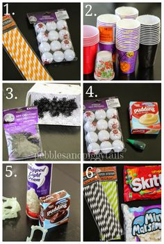 Pebbles & Piggytails: Easy Halloween Minute-to-Win-It Party (plus printables)