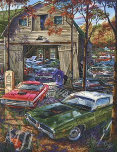 These beautiful pieces of art come from one of our favorite artists. Finding one to decorate your office, man cave, game room, bedroom, or even living room should be easy with a selection like this!.