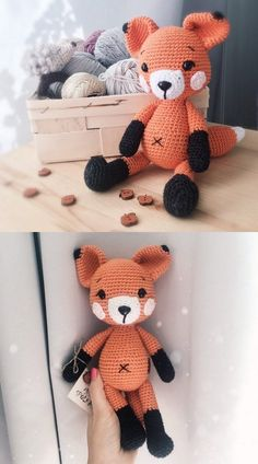 I wish you a lot of loving days. Today, we will share all the wonderful amigurumi knitting toy free. Crochet Quilt, Crochet Cushions, Crochet Patterns Amigurumi, Crochet Dolls, Cute Crochet, Crochet Baby, Origami, Stuffed Animal Patterns, Stuffed Animals