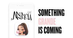 Ariana Grande is launching an emoji keyboard! #ARIMOJI Sign up here: getarimoji.com