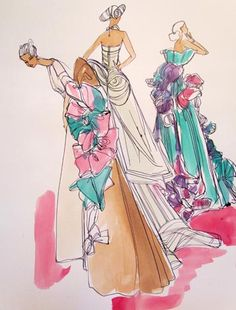 denise fike illustration of capucci