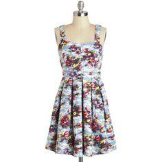 Lakeside Portrait Dress ($58) ❤ liked on Polyvore