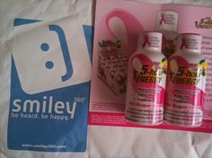 Got my 5-hour Energy kit from Smiley360!  #5hourGoesPink