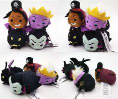 Disney Villains Tsum Tsums - Dr. Facilier, Ursula, Maleficent Dragon, Maleficent